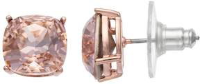 Brilliance+ Brilliance Rose Gold Tone Stud Earrings with Swarovski Crystals