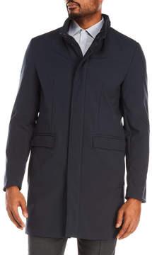 DKNY Dorian Stand Collar Coat