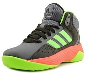 adidas Cloudfoam Ilation Mid K Youth Round Toe Synthetic Black Basketball Shoe.
