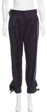 Band Of Outsiders Relaxed Wool High-Rise Pants