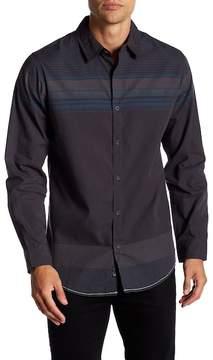 Burnside Long Sleeve Striped Regular Fit Shirt