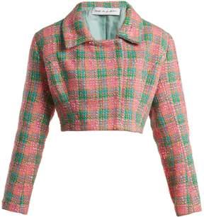 Emilio De La Morena Angeles cropped tweed jacket