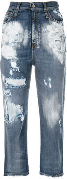Frankie Morello Serinde cropped jeans