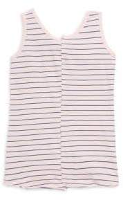 Splendid Girl's Cotton Striped Tank