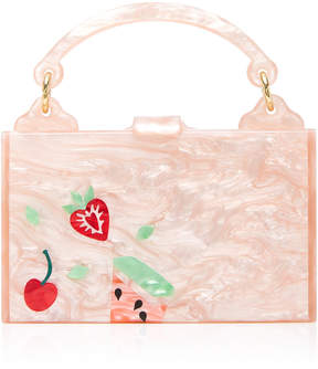 Edie Parker Small Inlay Housewife Bag