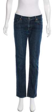 Adriano Goldschmied Low-Rise Straight-Leg Jeans
