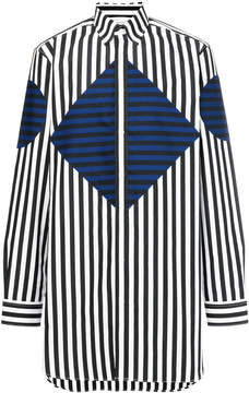 Givenchy graphic striped shirt