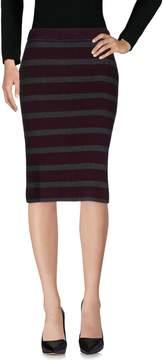 Sun 68 Knee length skirts