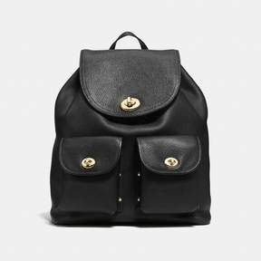COACH Coach Turnlock Rucksack - BLACK/LIGHT GOLD - STYLE