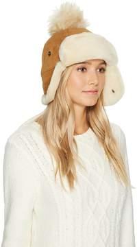 UGG Pom Waterproof Sheepskin Hat Caps
