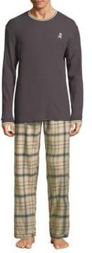 Psycho Bunny Plaid Pajamas