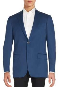 Hart Schaffner Marx Regular-Fit Worsted Wool Sportcoat