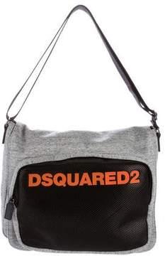 DSQUARED2 Heathered Messenger Bag