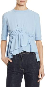 Each X Other Women's Jersey Gathered Cotton Top