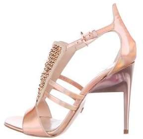 Ruthie Davis Holographic Embellished Sandals