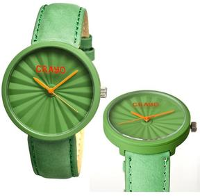 Crayo Pleats Collection CR1502 Unisex Watch