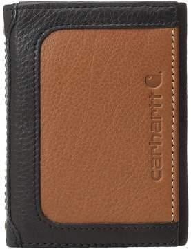 Carhartt Black Tan Trifold Wallet Wallet Handbags