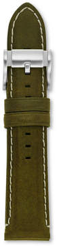 Fossil 22mm Olive Leather Watch Strap