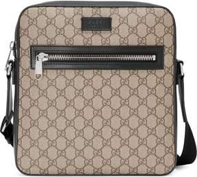 Gucci GG Supreme flat messenger