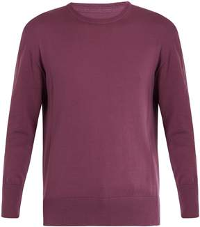 Officine Generale Luca crew-neck cotton-knit sweater