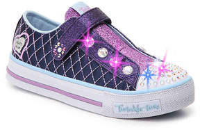 Skechers Girls Twinkle Toes Sparkly Toddler & Youth Light