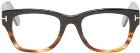 Tom Ford Black and Tortoiseshell TF5379 Glasses