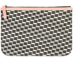 Pierre Hardy grained cube pouch