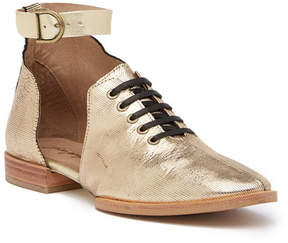 Free People Lucca Half d'Orsay Leather Oxford