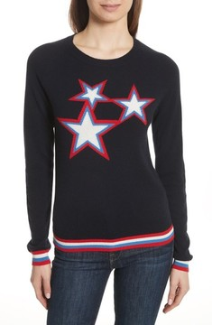 Chinti and Parker Women's Chinti & Parker Starbust Cashmere Sweater