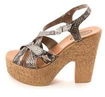 Callisto Womens Dona Open Toe Casual Slingback Sandals.