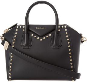 Givenchy Antigona Small Studded Leather Satchel