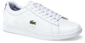 Lacoste Women's Carnaby Evo Low-rise Contrast Heel Sneakers
