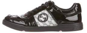 Gucci GG Patent Leather Sneakers