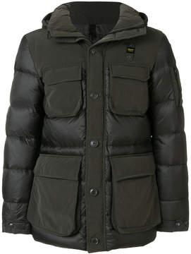 Blauer multiple pockets paded jacket