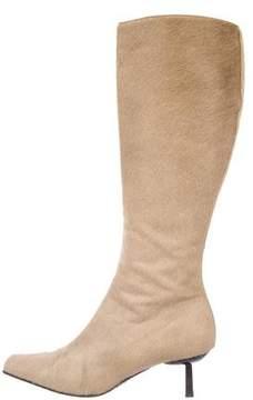 Vicini Ponyhair Knee-High Boots