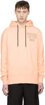 McQ Pink Hissing At The Sun Hoodie