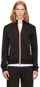 Moncler Black Maglia Zip-Up Sweatshirt