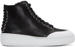 McQ Black Netil High-Top Sneakers