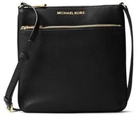 MICHAEL Michael Kors Bedford Small Flat Leather Crossbody Bag