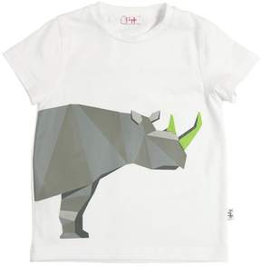 Il Gufo Rhino Printed Cotton Jersey T-Shirt