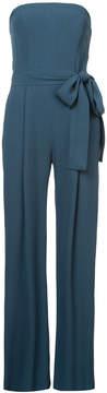 Carolina Herrera strapless tailored jumpsuit