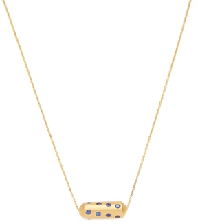 Amrapali Women's 18K Yellow Gold & Blue Sapphire Capsule Necklace