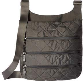 Baggallini Quilted Big Zipper Bag with RFID