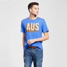 Awake Men's Texas Aus T-Shirt - Blue