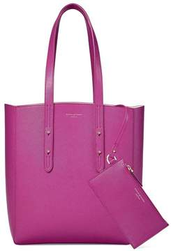 Aspinal of London | Essential Tote In Orchid Saffiano | Orchid saffiano