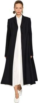 Jil Sander Wool & Mohair Long Coat