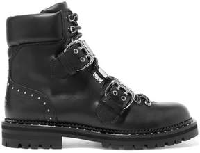 Jimmy Choo Breeze Studded Leather Ankle Boots - Black