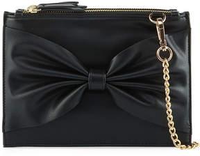 Neiman Marcus Kimberly Triple Zip Pouch Bow Crossbody Bag