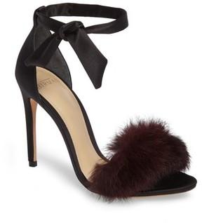 Alexandre Birman Women's Clarita Genuine Rabbit Fur Sandal