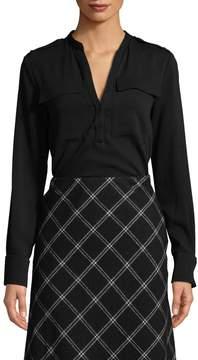 Tibi Women's Blouse Bodysuit